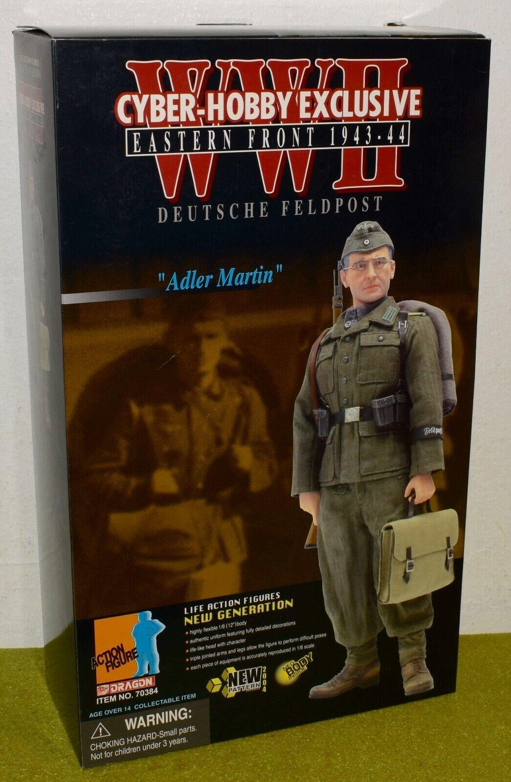 DRAGON 1 6 SCALE WW II GERMAN ADLER MARTIN DEUTSCHE FELDPOST CYBER-HOBBY NO CARD