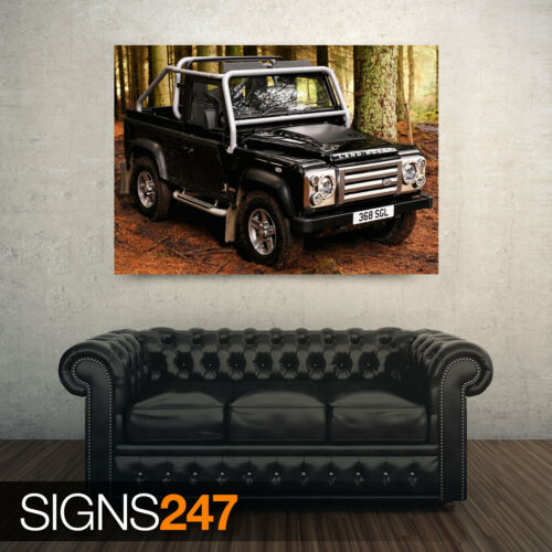 AD166 LAND ROVER 18 CAR POSTER Photo Picture Poster Print Art A0 A1 A2 A3 A4
