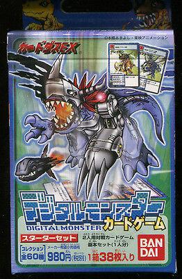 New Japanese Digimon Starter Deck Ver. 1 38 Card Box Bandai 1999