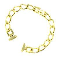 8-11mm Speidel Ladies Charm Bracelet Gold Tone Chain Watch Band Buy 1 Get 1 Free
