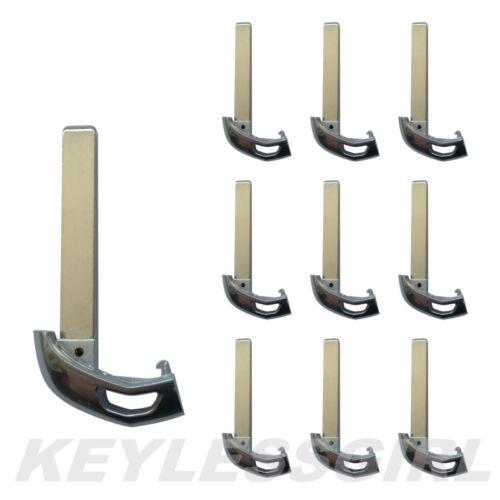 Lot 10P New Keyless Remote Uncut Insert Car Key Blade Blank Fob For Cadillac ATS
