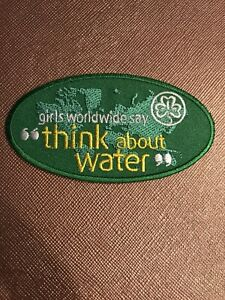 THINKING DAY WAGGGS patch International Friendship Worldwide Girl Scouts Guides