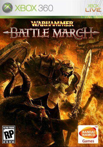 Warhammer: Battle March - Microsoft Xbox 360 [Fantasy Action Adventure] NEW