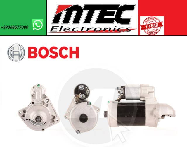 BOSCH Motor de Arranque 0001109306 Iveco Diario III IV V Massif Recuperado