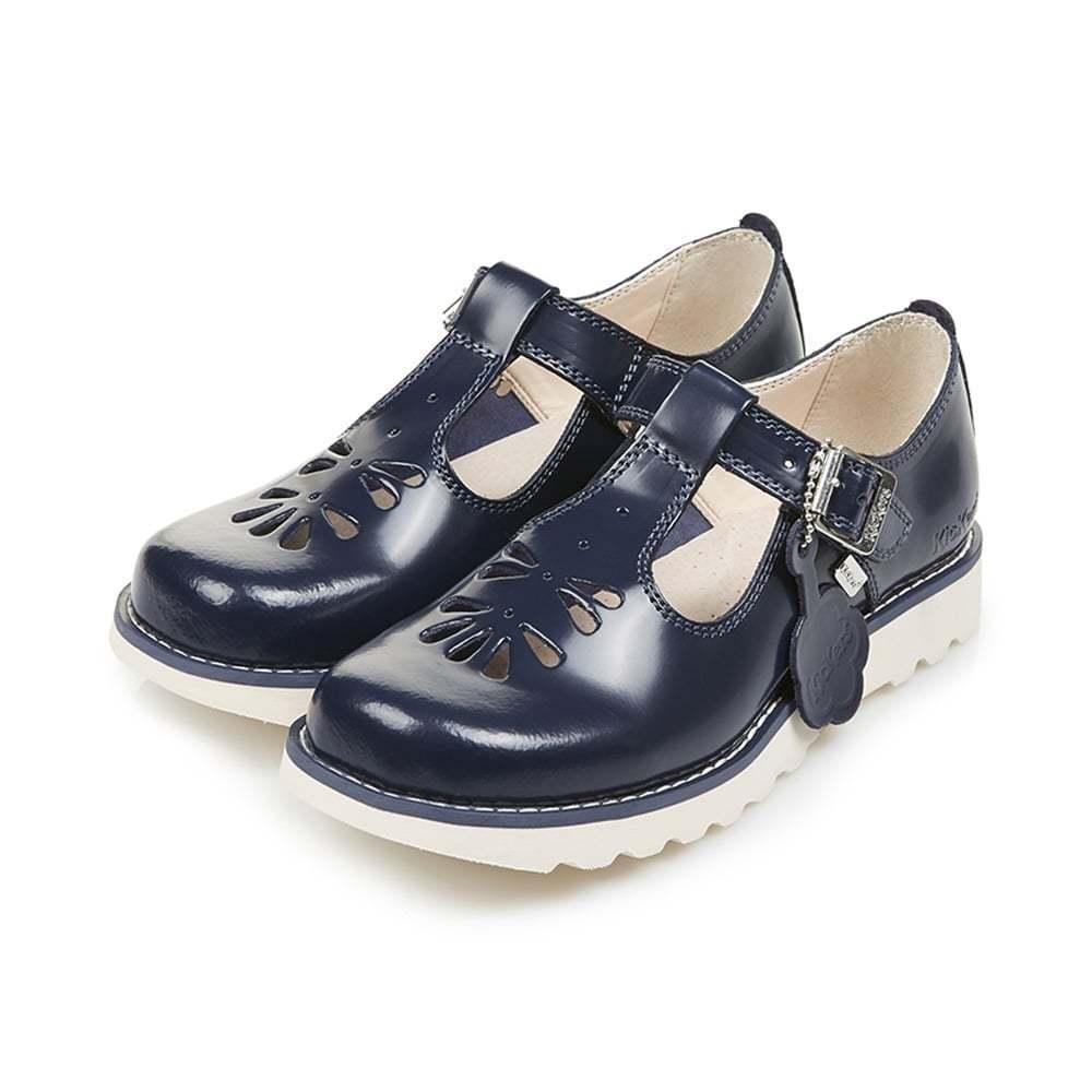 Kickers Niña KICKERS SUMA Azul Marino Zapatos