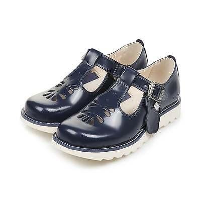 KICKERS filles kickers SUMA bleu marine chaussures | eBay