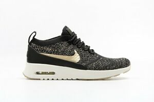 Details about Nike WOMEN'S Air Max Thea Ultra FLYKNIT Metallic Gold SIZE 10.5 NEW