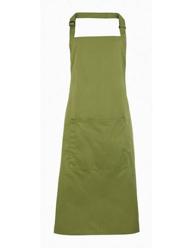 Premier Workwear Colours Collection Bib Apron with Pocket