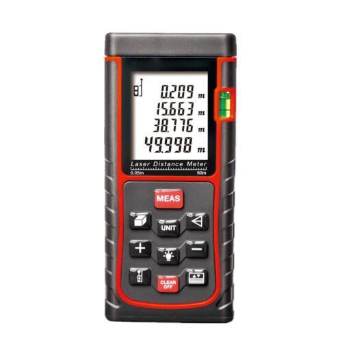 40-100m Bereich//Lautstärke//Winkel Laser Distanzhalter Meter Range Finder Maß