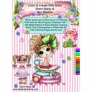 """My Besties Coloring Book 5.25""""X8"""" 50 Pages - NOTM419925"""