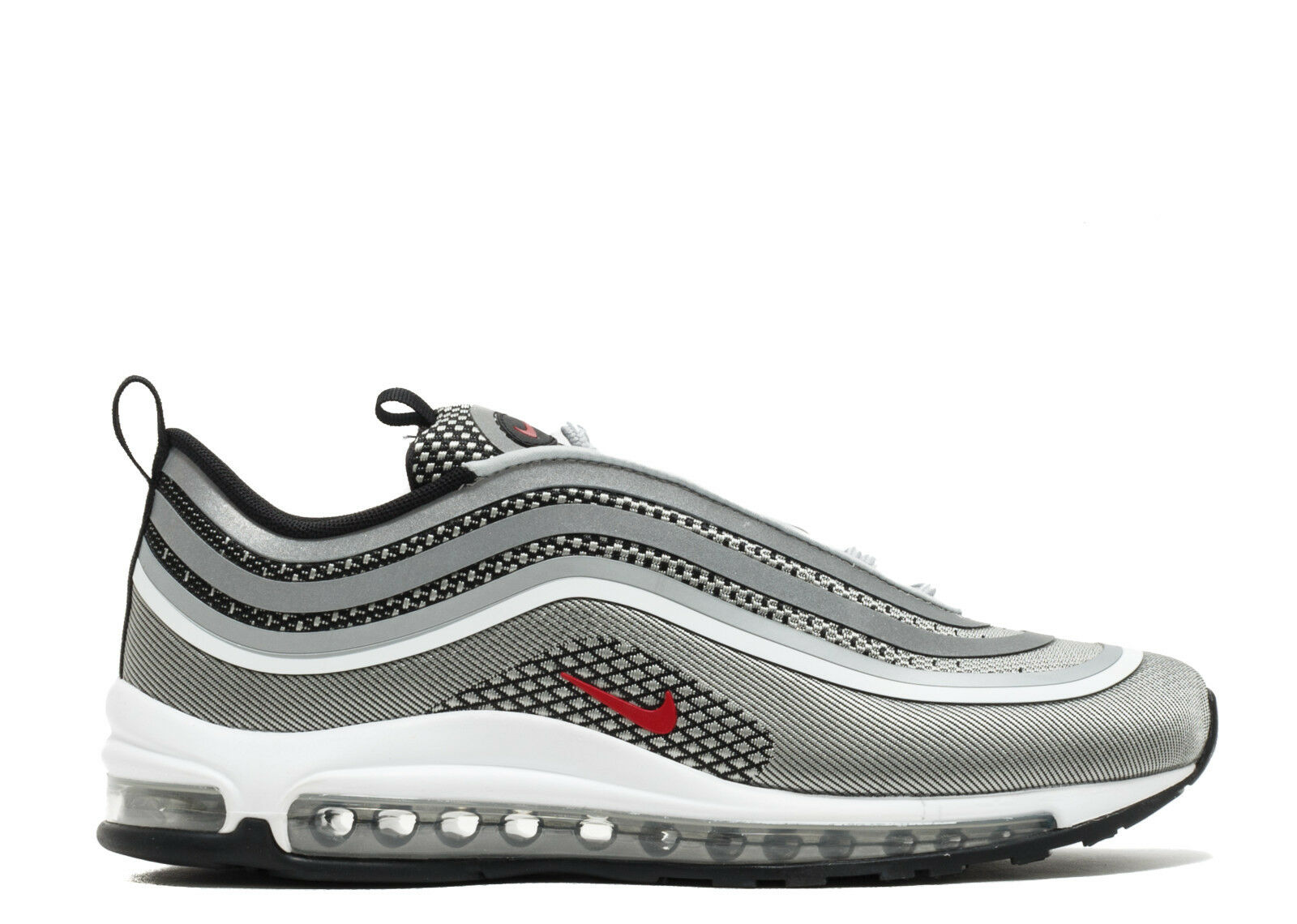 Nike Air Max 97 UL Ultra '17 Metallic Silver Bullet Varsity Red White 918356-003