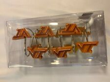 NCAA Virginia Tech Hokies 12-Piece Shower Curtain Rings Set