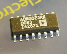 3x ADM202JRN High Speed, +5V, 0.1uF CMOS RS-232 Driver/Receiver, Analog Devices