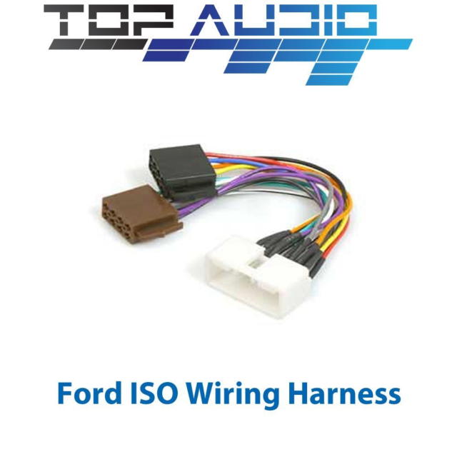 ford falcon au 1998 2002 iso wiring harness stereo radio plug lead rh ebay com au 1965 ford falcon wiring harness 1964 ford falcon wiring harness