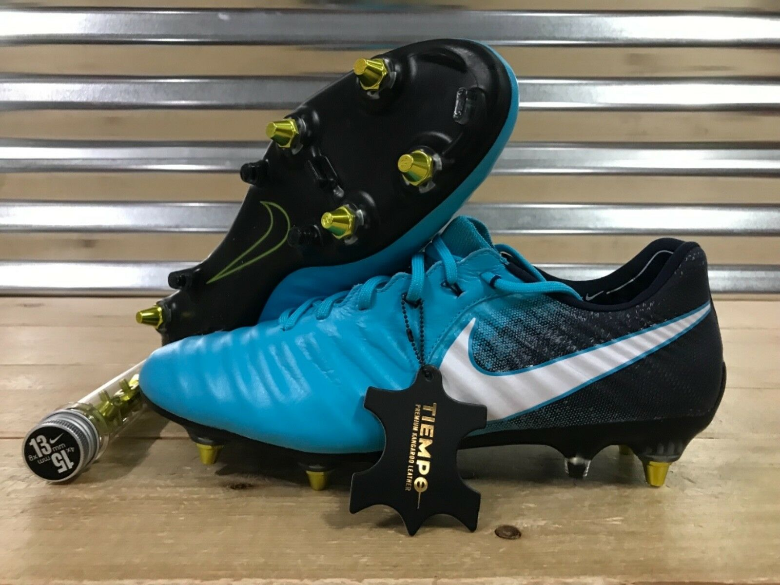 Nike Tiempo Legend VII SG-PRO Anti-Clog Soccer Cleats bluee SZ ( 917805-415 )
