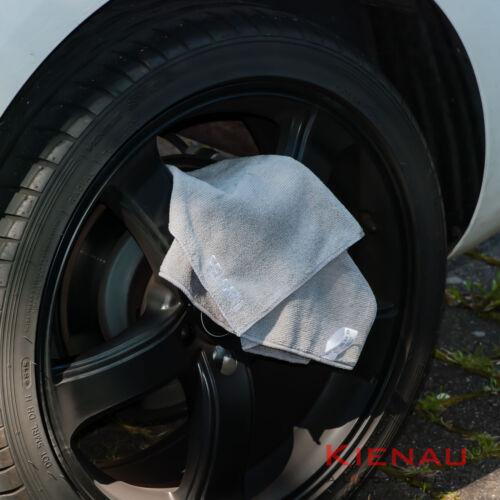 Set 4 x sollevatore carrello Adattatore in gomma accoglienza F Mercedes CERCHI panno in microfibra a C