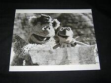 Original 1979 THE MUPPET MOVIE 8x10 Test Proof Photo KERMIT #14 FOZZIE BEAR