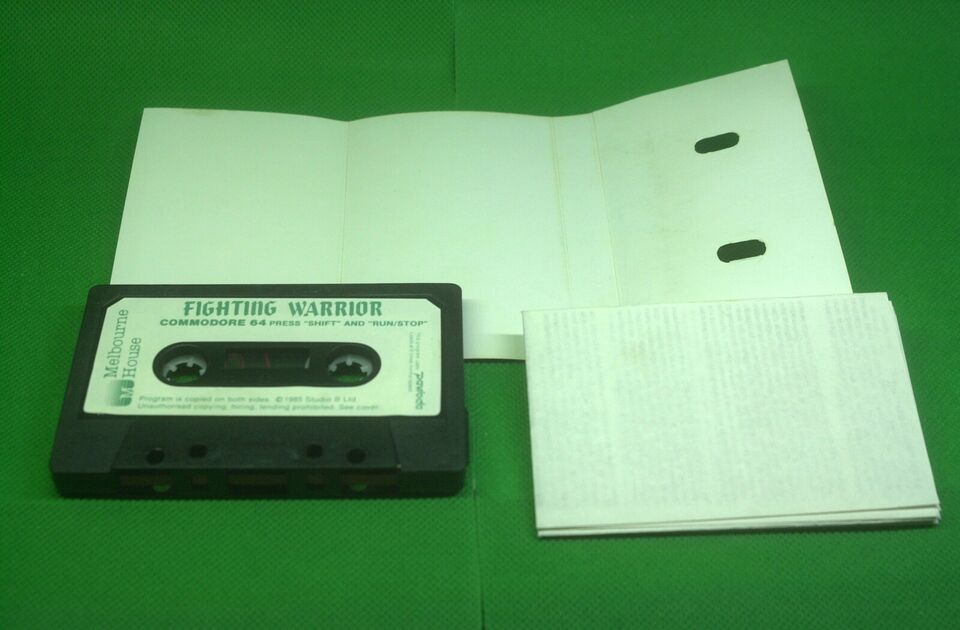 Fighting Warrior, Commodore 64