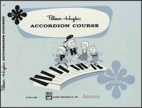 Palmer-Hughes Accordion Course Book 1 Learn How to Play Method