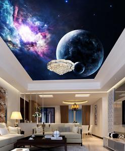 3D Planet Space 443 Ceiling WallPaper Murals Wall Print Decal AJ WALLPAPER US