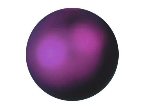 6er Pack Europalms de Noël Boule//Dekokugel//Boules 6 cm-Violet M