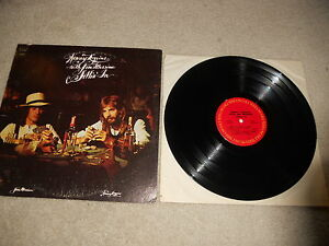 Kenny-Loggins-with-Jim-Messina-Sittin-039-In-1st-1C-Press-CLEAN-VG