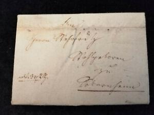 Vorphilatelie-Altdeutschland-Brief-Faltbrief-von-1828-Nr-3
