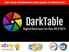 Darktable - Digital Darkroom for Mac - Photo Editor / Enhancer, RAW, DSLR etc