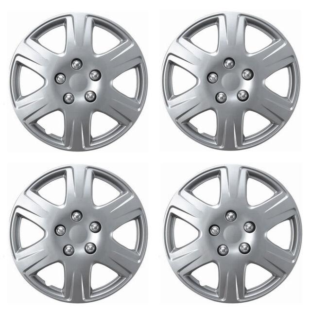 "Silver ABS Hub Cap Fits 2005-2008 Toyota Corolla Style 15/"" Wheel Hub Cap 993"