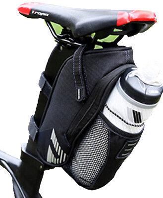Satteltasche Fahrrad Wasserdicht Mit Halterung Für Flasche :: Reflektor Flächen