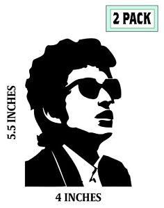 Details About 2 Pack Bob Dylan Stickers Vinyl Decal Robert Allen Zimmerman