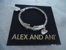 Alex and Ani EROS LOVESTRUCK ARROW WRAP Rafaelian Silver New W/Tag Card & Box