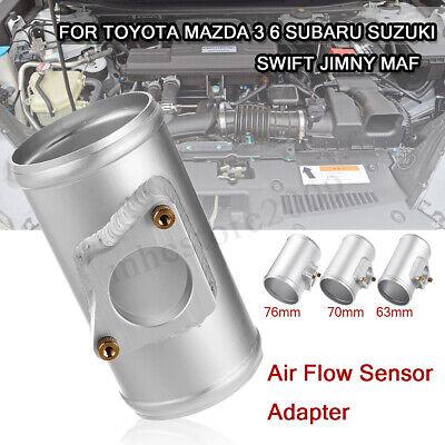 83mm Air Flow Sensor Adapter Air Intake Meter Mount for Toyota Mazda