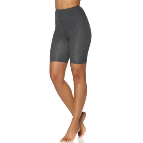 Rhonda Shear Seamless High-Waist Cotton-Blend Bermuda Short Shaper 483058