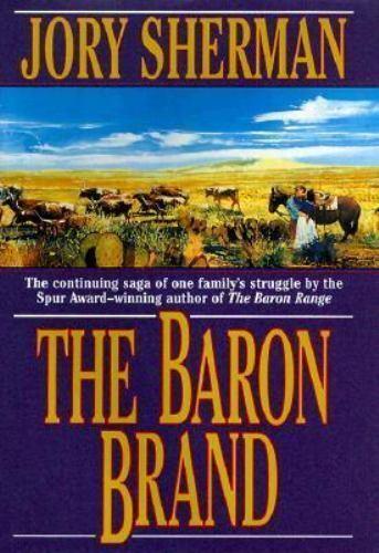 The Baron Brand (Barons)-ExLibrary