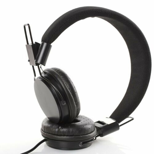 3.5mm Wired Foldable Gaming Headset MIC Bass Stereo Headphones for Laptop PC PS4