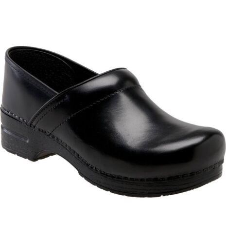 Cuir Noir Dansko Compensé À Plateforme 7 Compensée En Sandale Xp 37 Taille Talon ordCBex