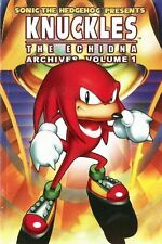KNUCKLES THE ECHIDNA ARCHIVES VOL 1 (SONIC) SOFTCOVER VF / NM  #snov15-423