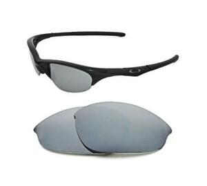 8a280ea7b5 Image is loading NEW-POLARIZED-CUSTOM-SILVER-ICE-LENS-FOR-OAKLEY-