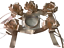 Inerra-mariage-voiture-decoration-Kit-5-x-prets-7-034-Arcs-avec-7-metres-ruban miniature 34