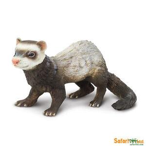 Safari-ltd-265929-Furets-16-cm-Serie-Animaux-Sauvages