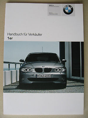 Cordiale Venditore Manuale Bmw 1er E87 Berlina 116i 118i D 120i D 130i Mj 2006 2007-