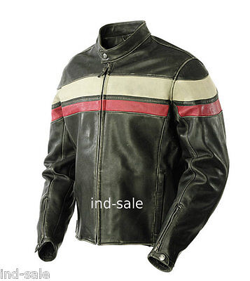 Custom Tailor Made All Sizes Leather Jacket Handcrafted Stylish Biker