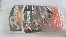 3X yellow Broadheads 2 Blade 2.3'' cut 100 GR Hunting Arrowheads USPS Shipping