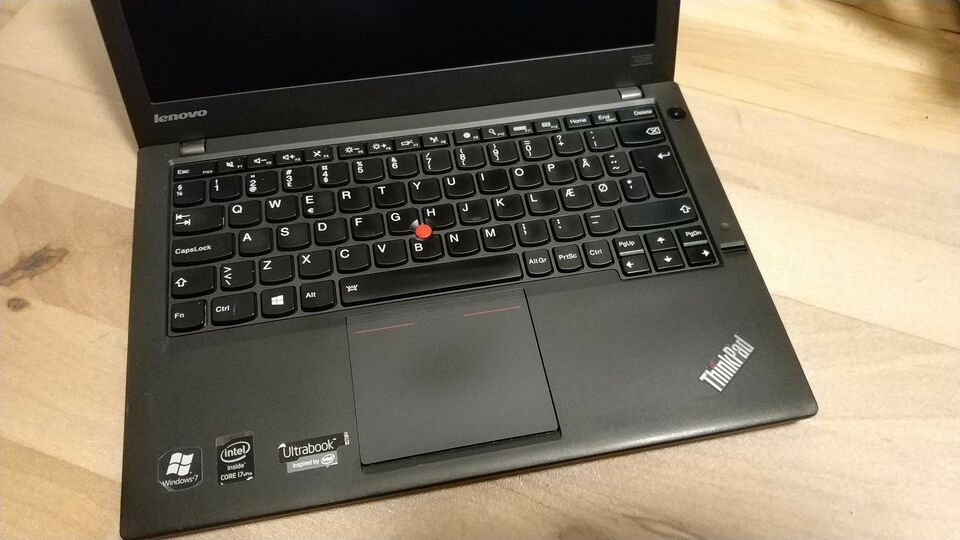 Lenovo Thinkpad X240, Core i7 - op til 3,3 GHz, 8 GB ram