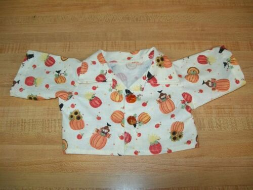 "THANKSGIVING SHIRT+/""SUEDE/"" PANTS TURKEY PILGRIM for 16-17/"" CPK Cabbage Patch kid"