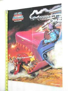 VINTAGE-Masters-of-the-Universe-He-man-POSTER-SKELETOR-LAND-SHARK-EARL-NOREM