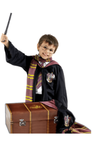Kids-Harry-Potter-Costume-With-Suitcase-Gryffindor-Robe-Tie-Scarf-Wand-Glasses