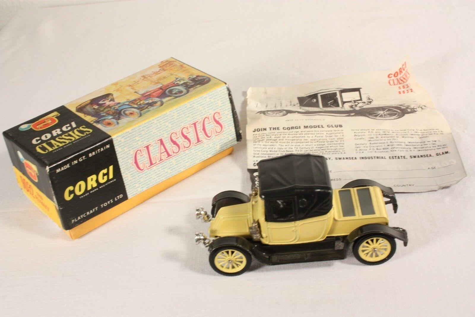 CORGI TOYS 9032, Renault 1910, Comme neuf in box  ab556