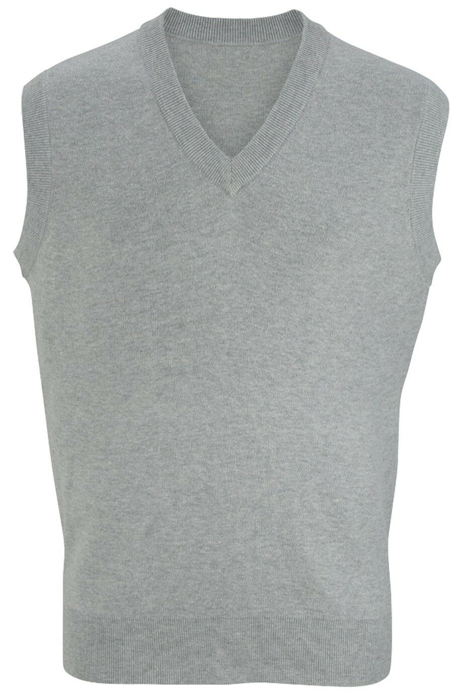 COTTON SWEATER VEST w// THE FEEL OF CASHMERE PULLOVER MEN/'S V NECK XS-5XL